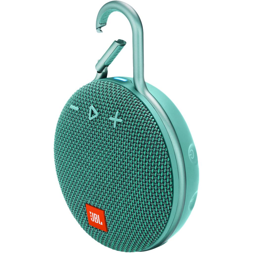 Afbeelding van de JBL Clip 3 Turquoise