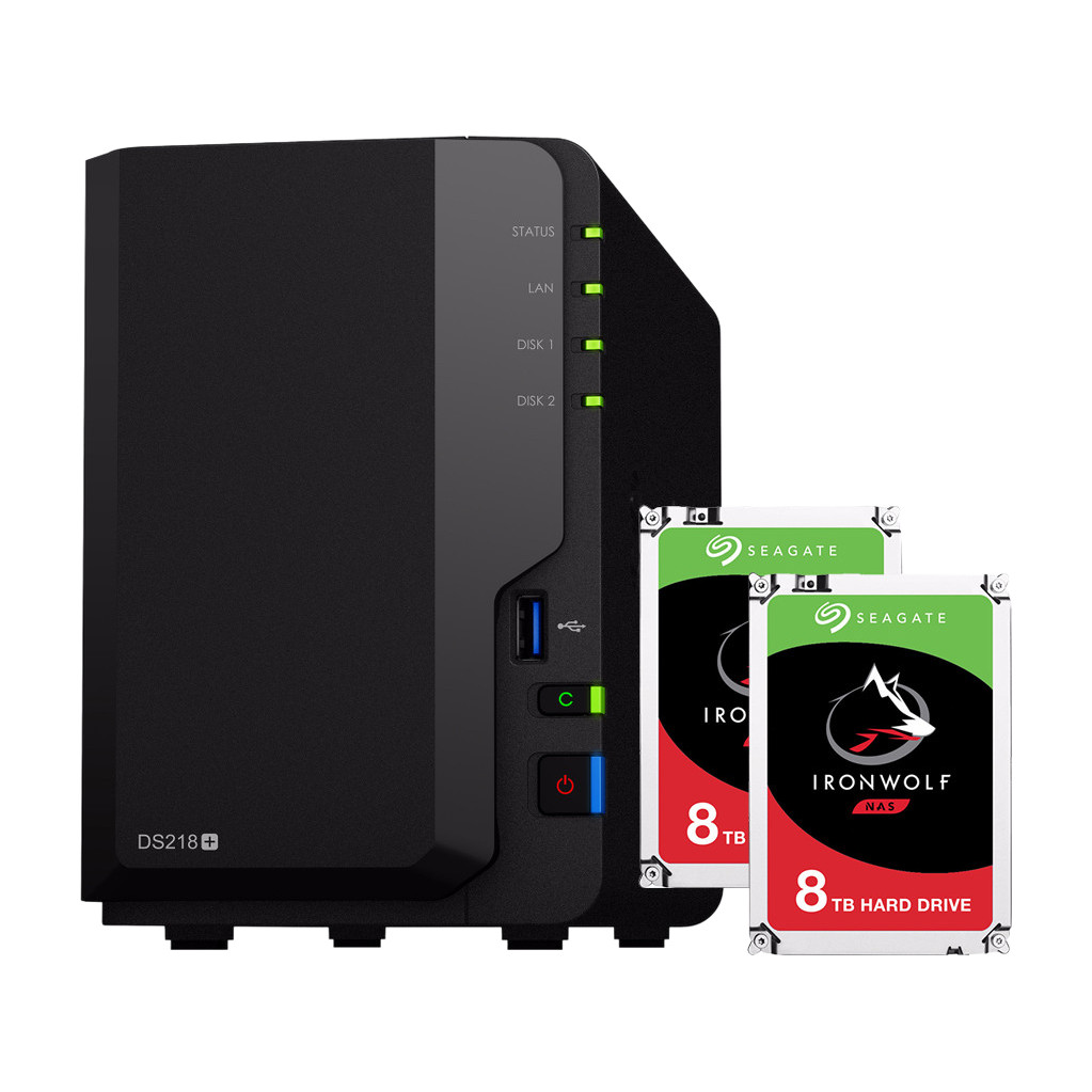 Synology DS218 16TB