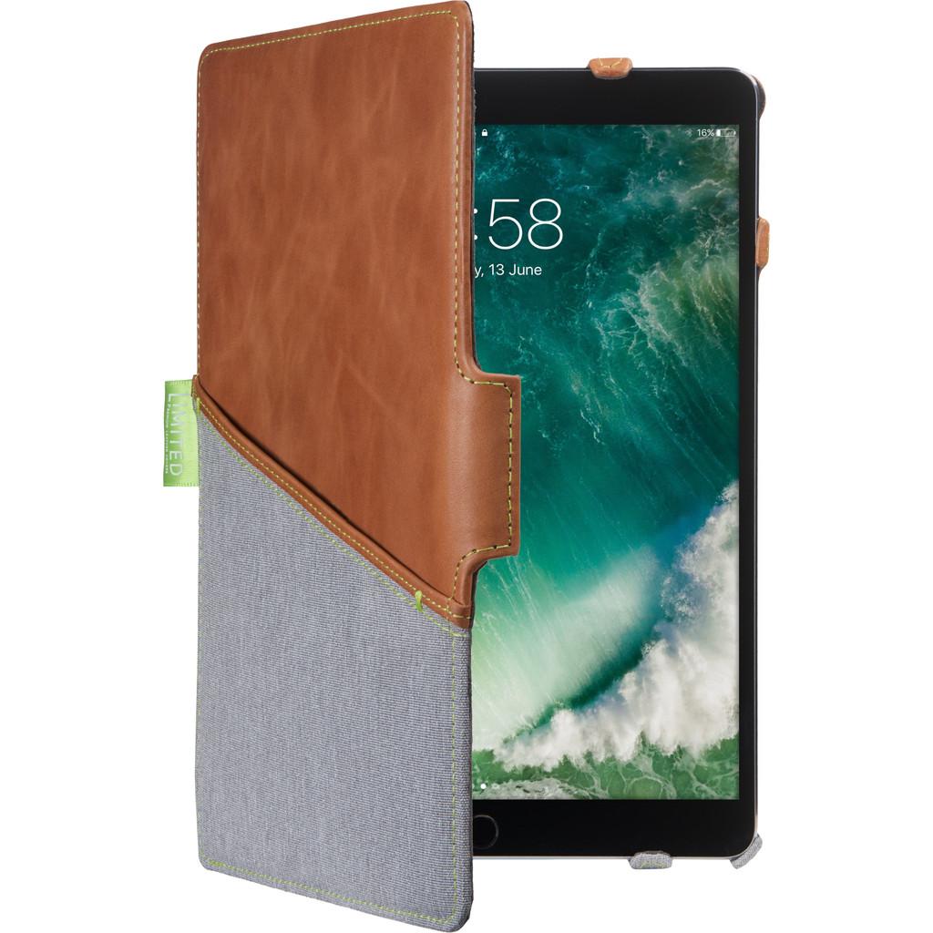 Tweedekans Gecko Covers Limited Apple iPad Pro 10.5 en Apple iPad Air (2019) Book Case Bruin