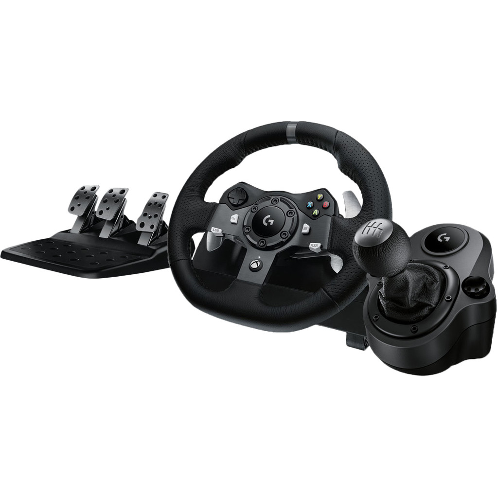 Logitech G920 Driving Force Xbox en pc Logitech Driving Force Shifter