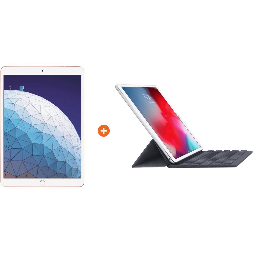 Apple iPad Air (2019) 64 GB Wifi Goud + Smart Keyboard