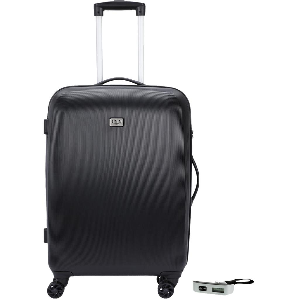 SININ Solid 67cm Zwart Veripart Digitale Bagageweegschaal