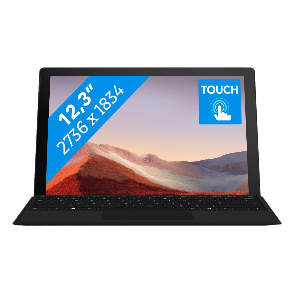 Tweedekans Microsoft Surface Pro 7 - i7 - 16 GB - 512 GB Black
