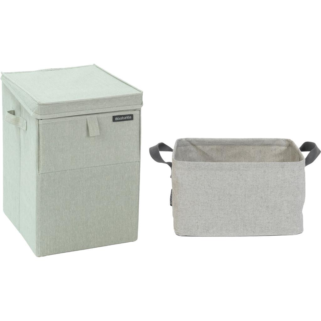 Brabantia Wasbox 35 liter + Brabantia Opvouwbare Wasmand 40 liter