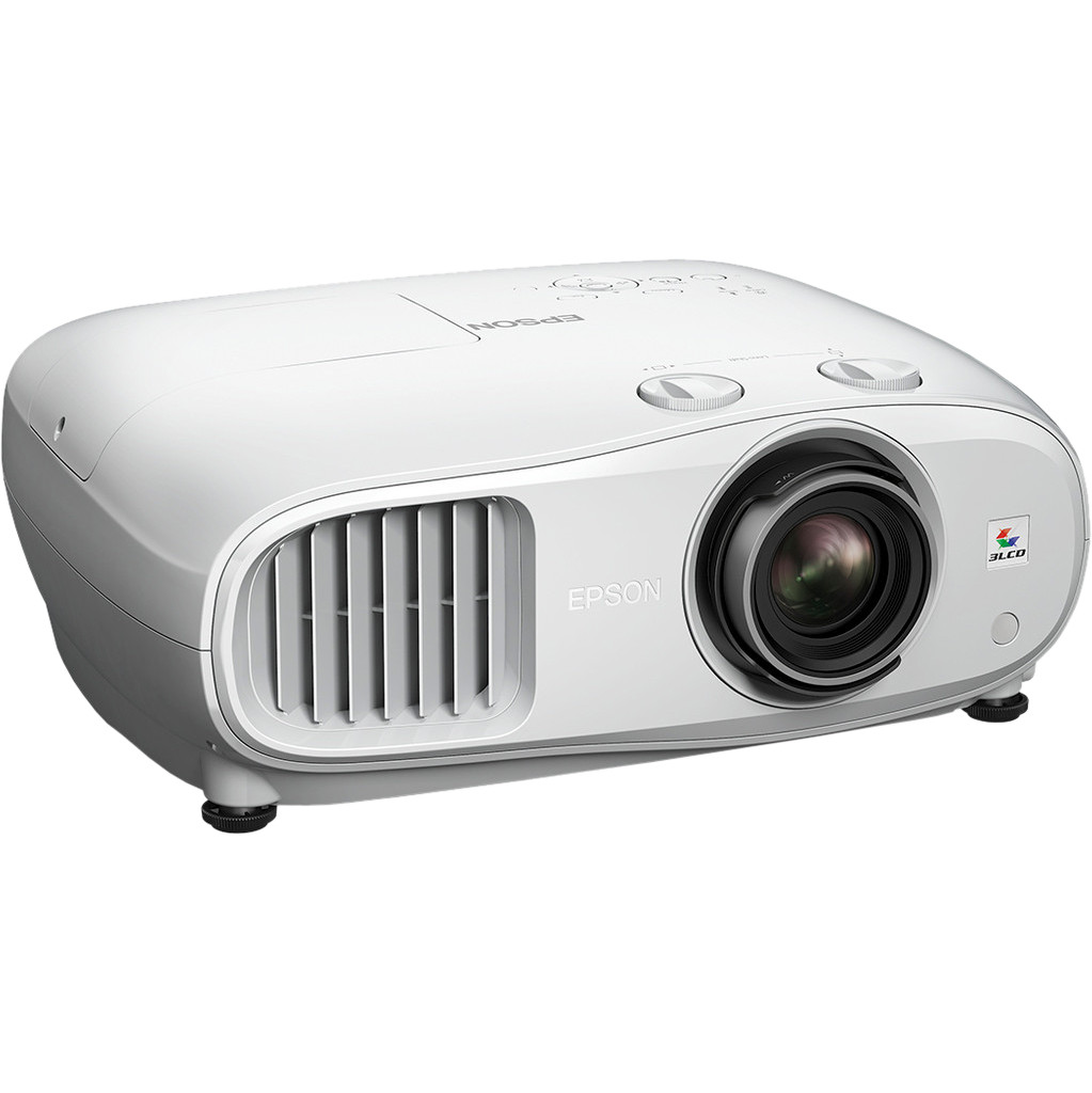 Epson EH-TW7000 beamer-projector 3000 ANSI lumens 3LCD 4K (4096 x 2400) 3D Draagbare projector Wit