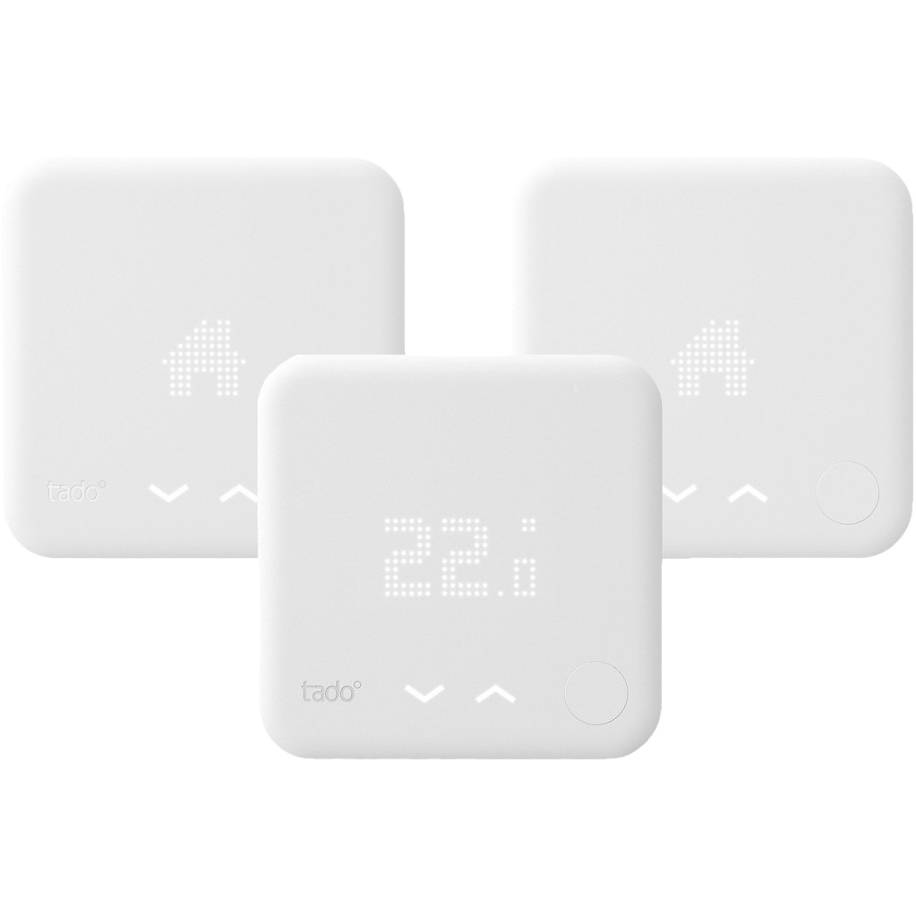 Tado Slimme Thermostaat V3 Multi Zone Duo Pack Nu voor 487 euro!