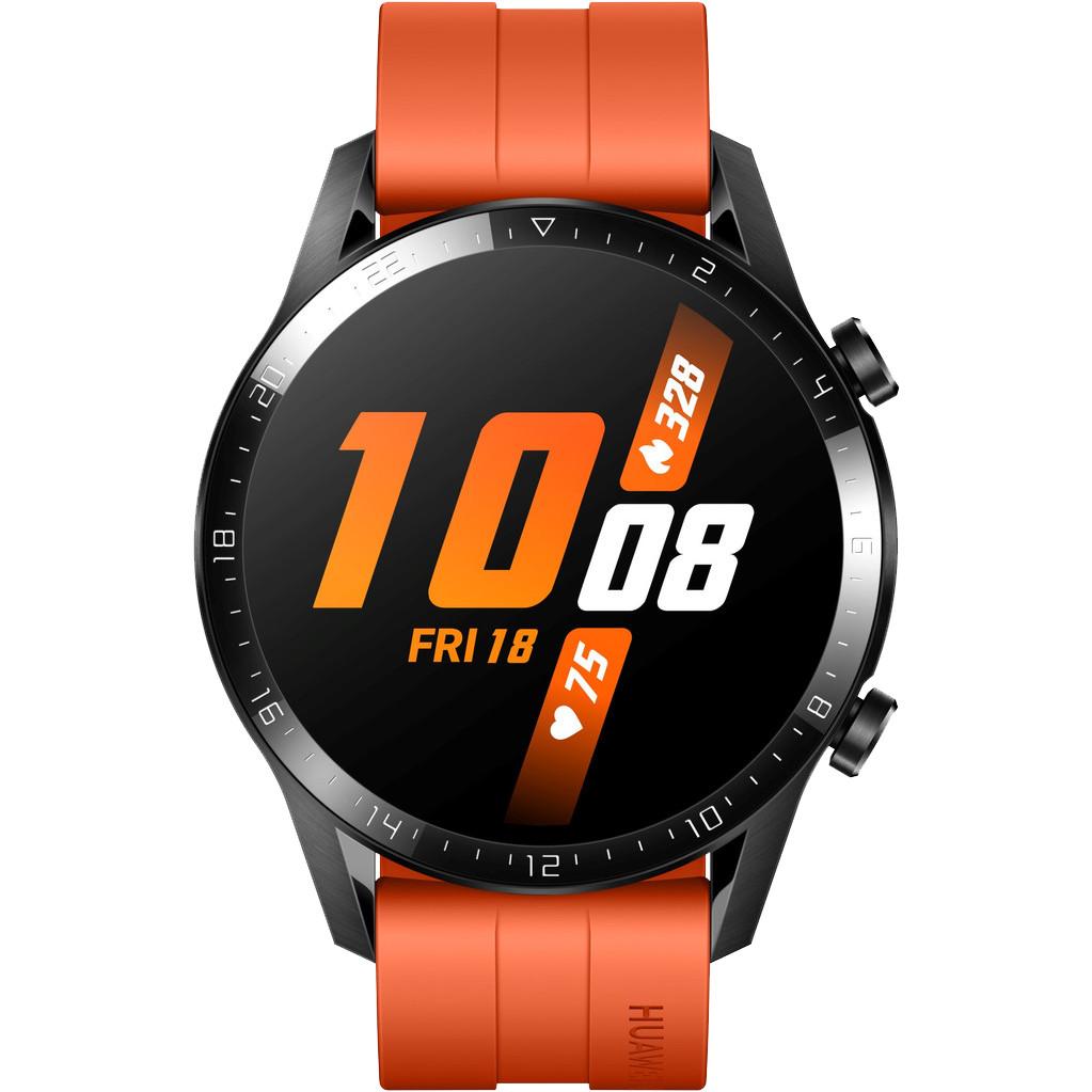 Huawei Watch GT 2 Zwart Oranje 46mm
