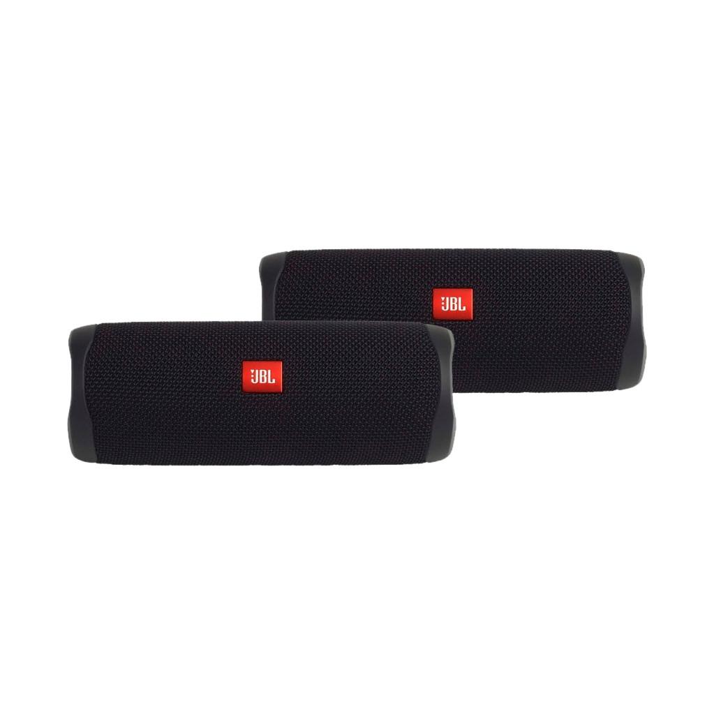 Afbeelding van de JBL Flip 5 Duo Pack Zwart