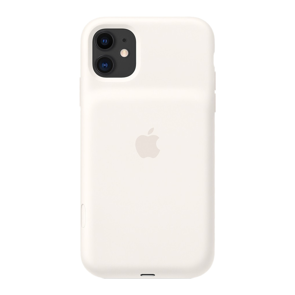Apple iPhone 11 Smart Battery Case met Draadloos Opladen Wit