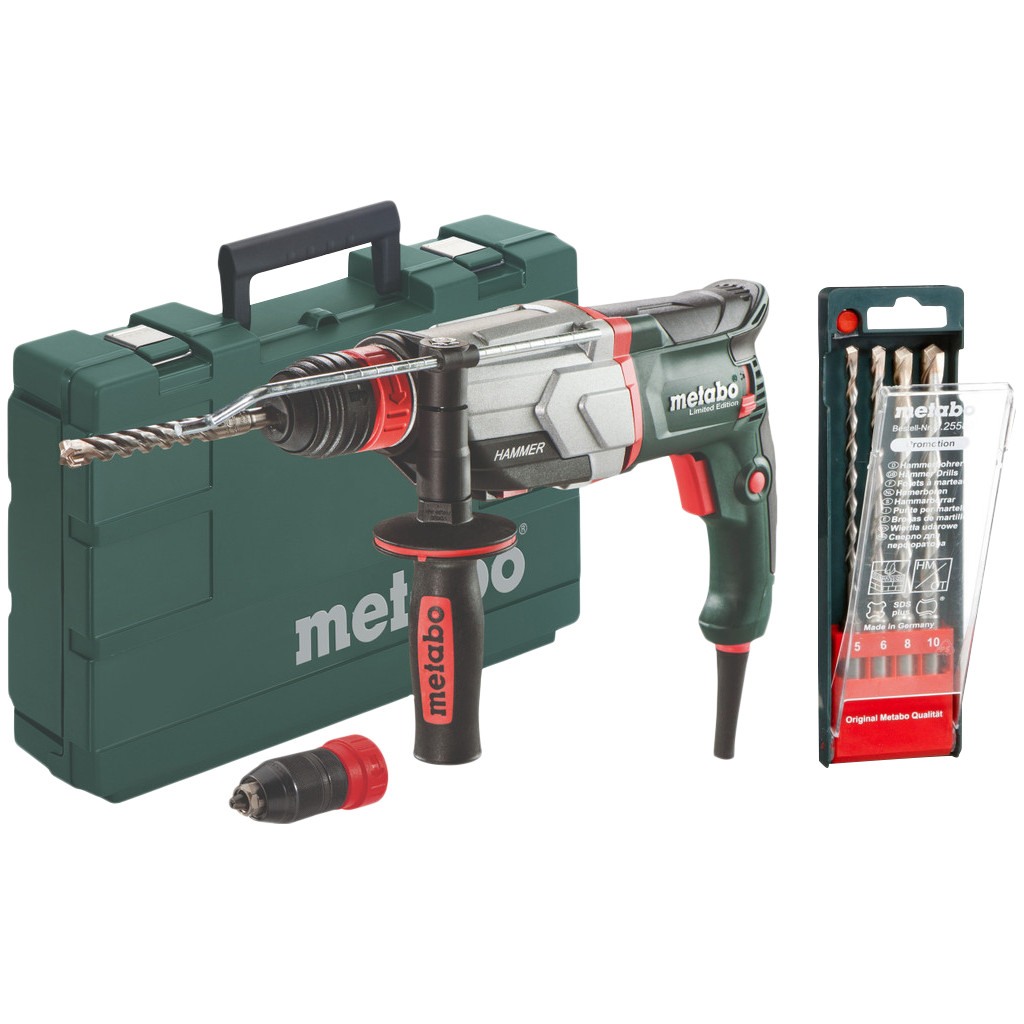 Metabo KHE 2860 Quick + 4-delige SDS-plus boren