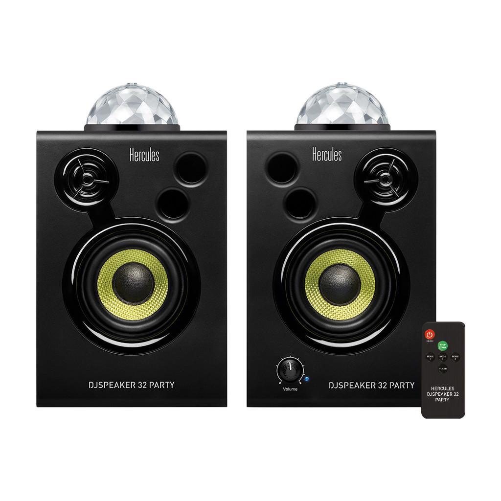 Hercules DJSpeaker 32 Party speakers met verlichting (set van 2)