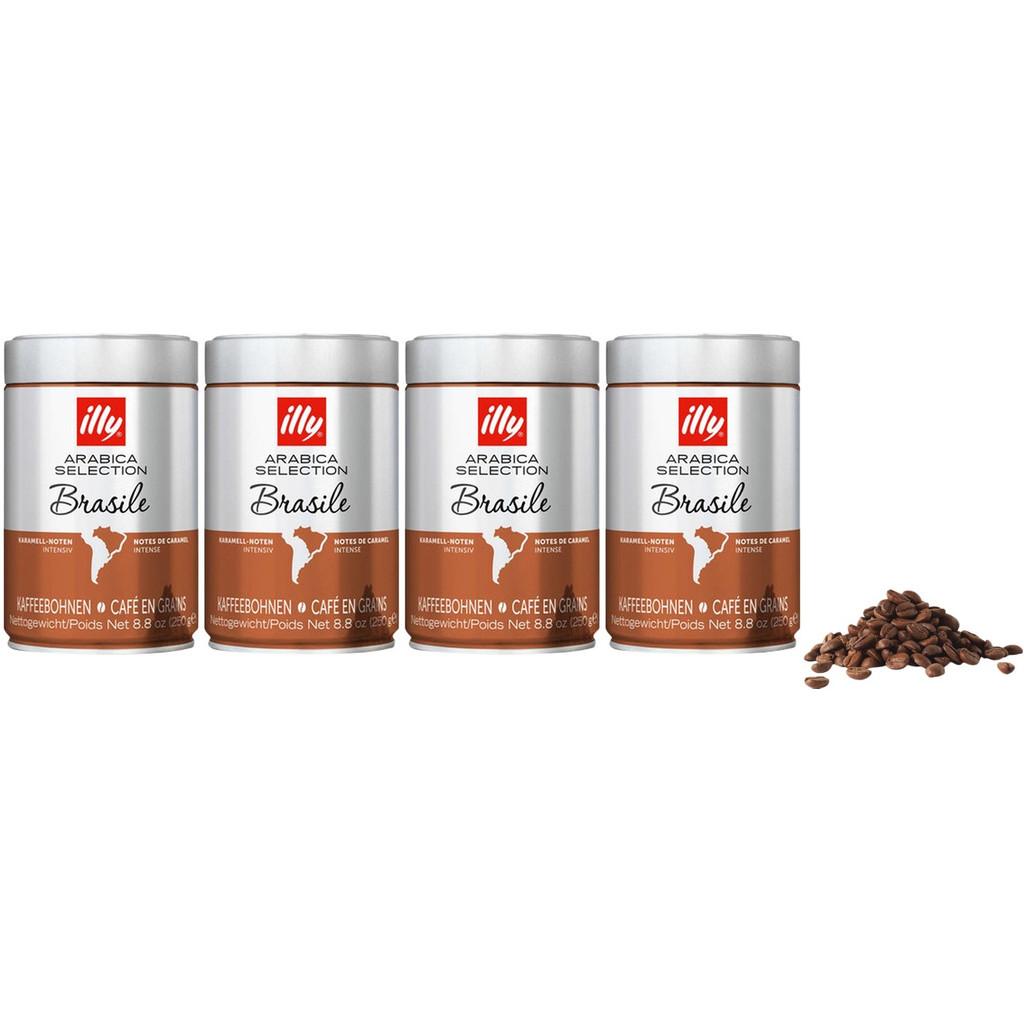 Illy Brazil koffiebonen 1 kg