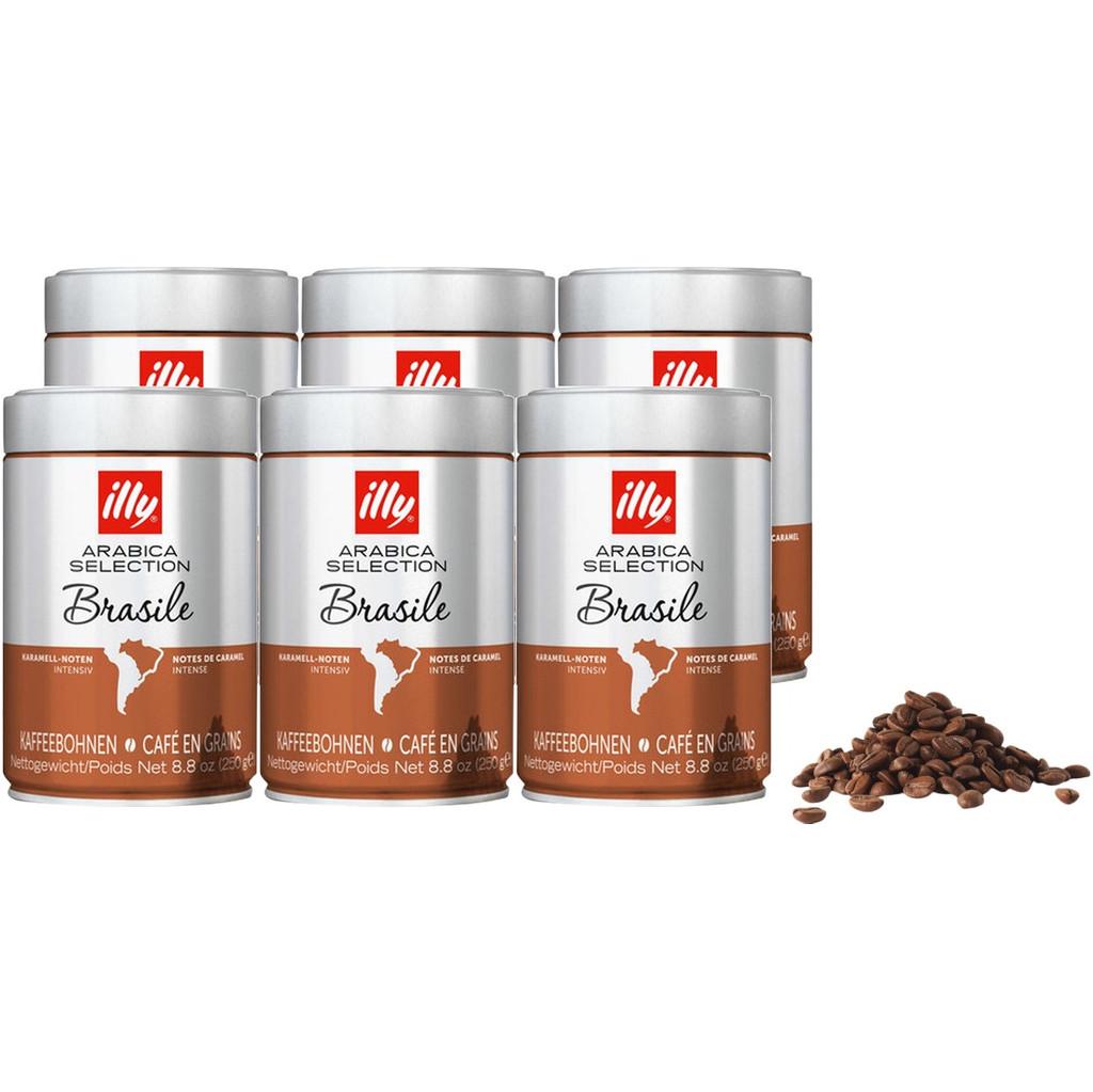 Illy Brazil koffiebonen 1,5 kg