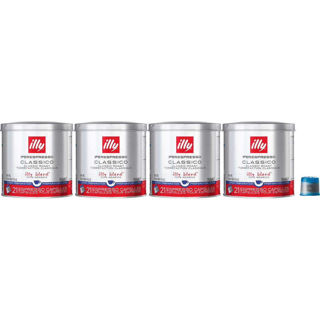 Illy Iperespresso Lungo 84 cups