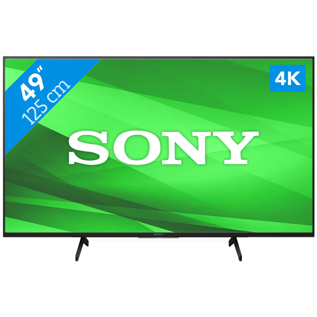 Tweedekans Sony KD-49X7055 (2020) Tweedehands