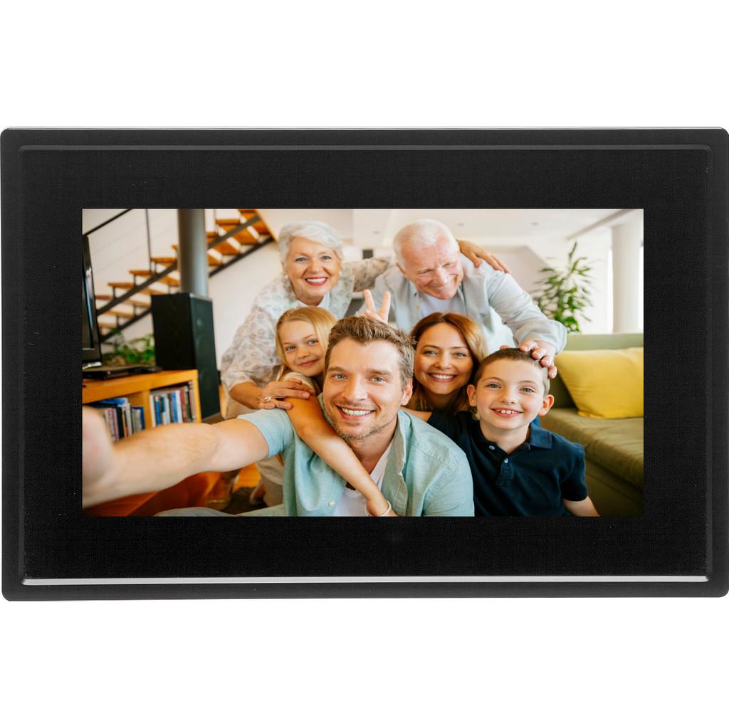 Denver PFF-711 Black Digitale WiFi-fotolijst 17.8 cm 7 inch 1024 x 600 pix 8 GB Zwart