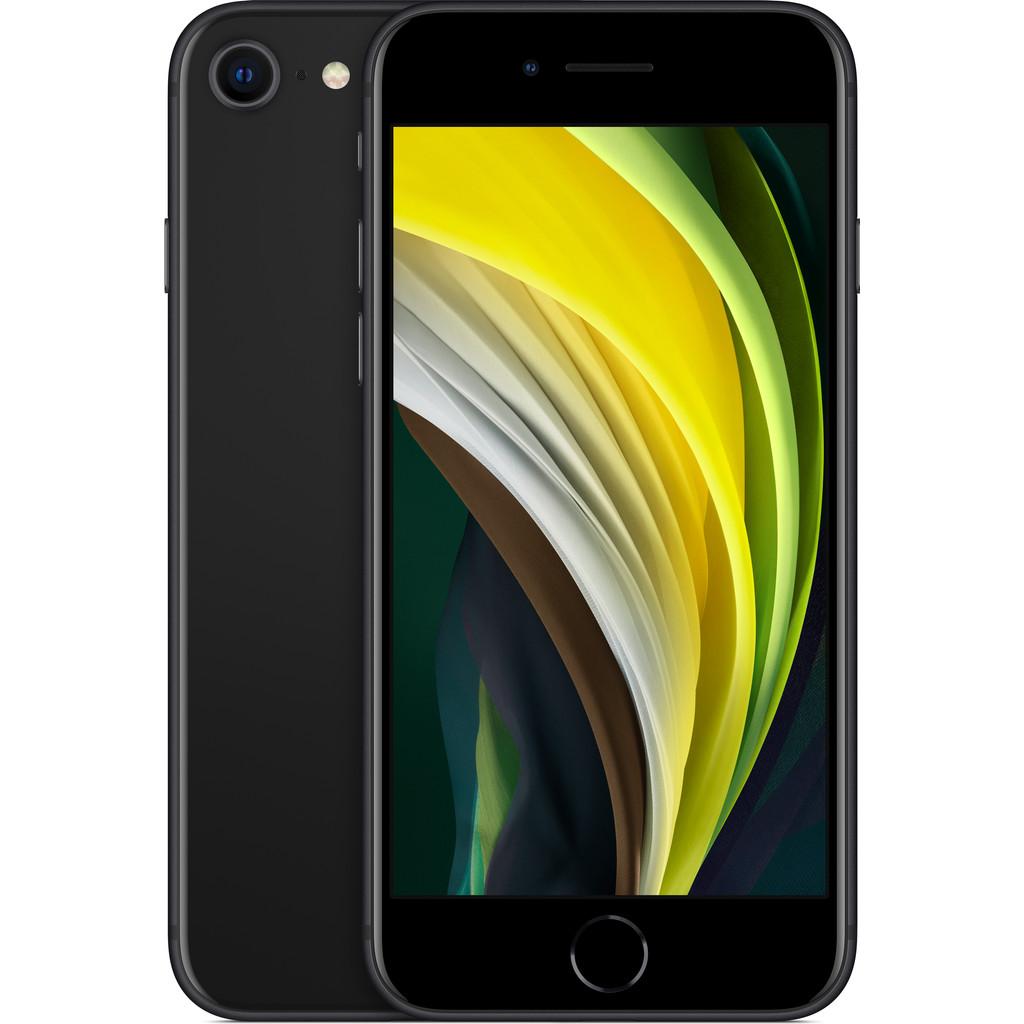 Apple iPhone SE 64 GB Zwart-64 GB opslagcapaciteit  4,7 inch LCD scherm  iOS 13