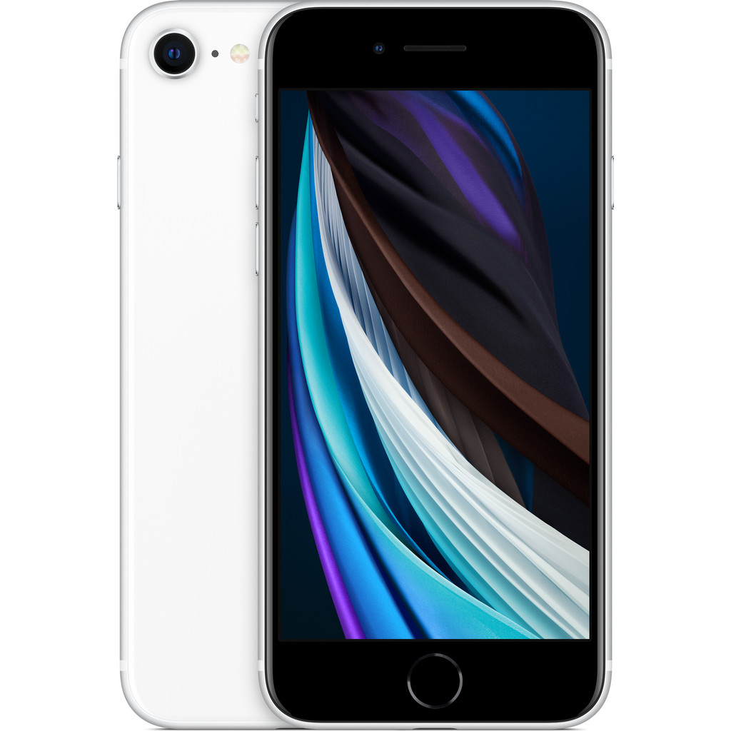 Apple iPhone SE 128 GB Wit-128 GB opslagcapaciteit  4,7 inch LCD scherm  iOS 13