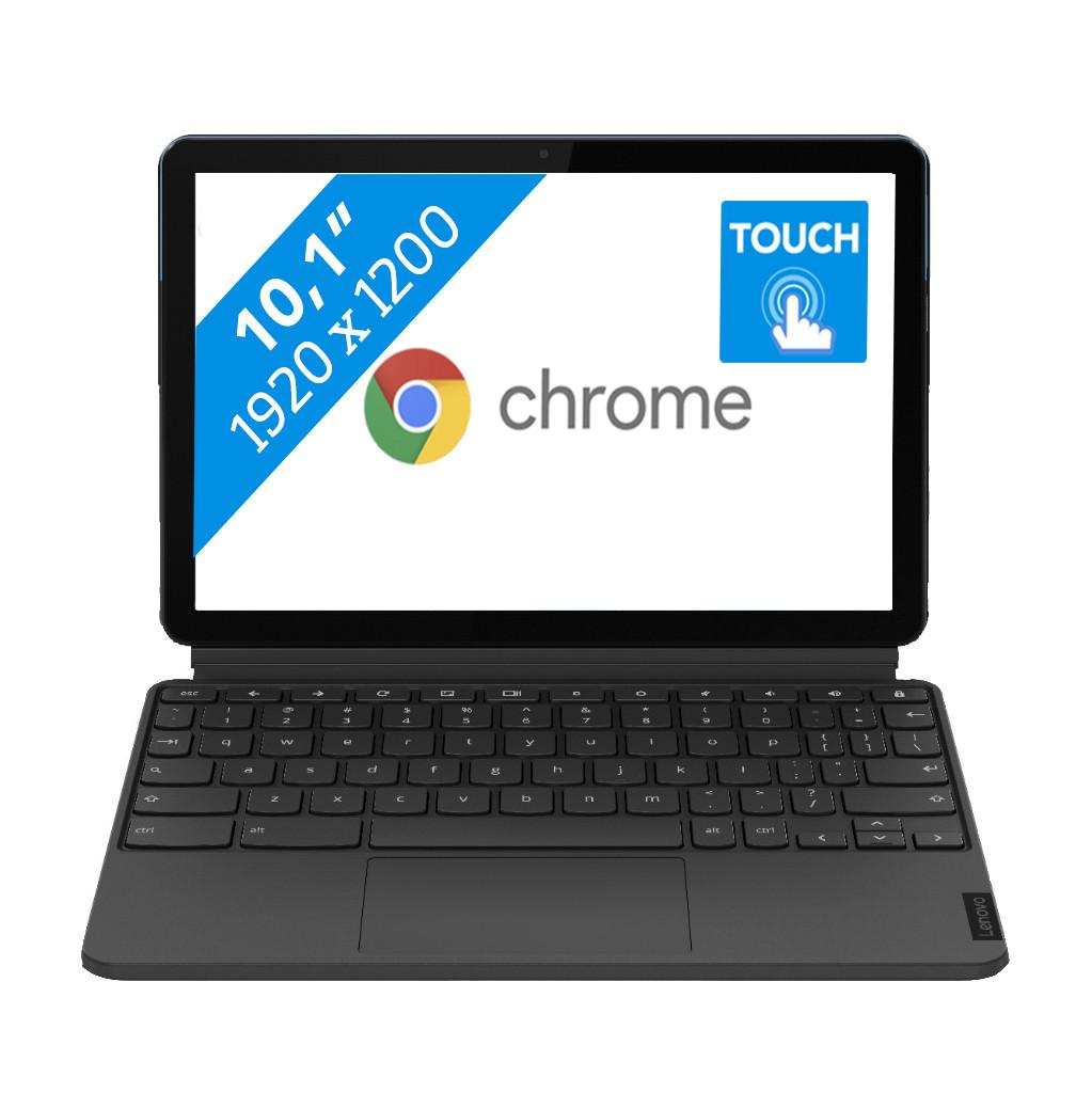 Tweedekans Lenovo IdeaPad Duet Chromebook Tablet 128GB- ZA6F0004NL