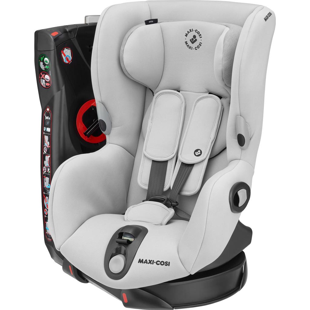 Maxi-Cosi Axiss autostoel groep 1 met 90° draai Authentic Grey