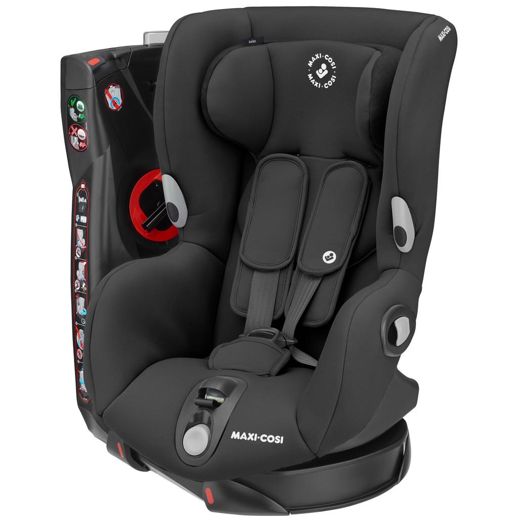 Maxi-Cosi Axiss autostoel groep 1 met 90° draai Authentic Black