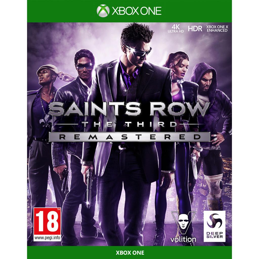 Saints Row The Third Remastered Xbox One