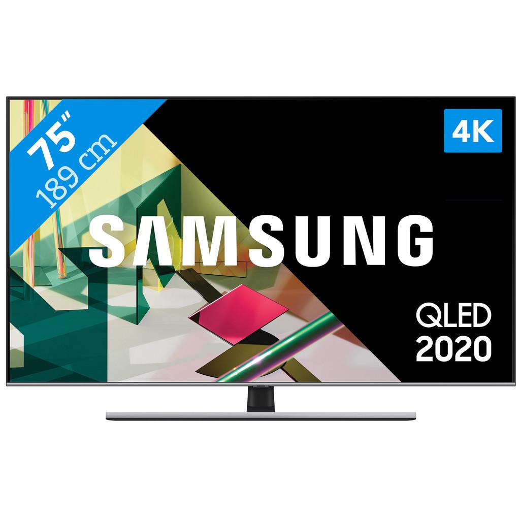Tweedekans Samsung QLED 75Q74T (2020) Tweedehands
