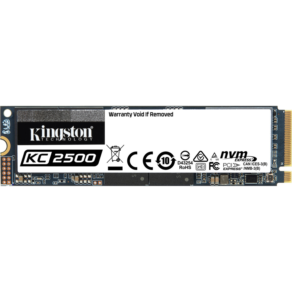 Kingston 250GB KC2500 M.2 SSD kopen