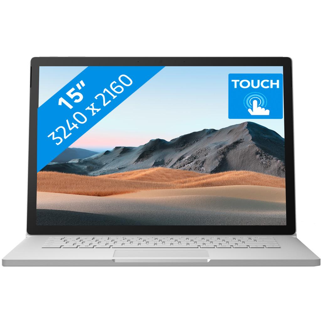 "Microsoft Surface Book 3 - 15"" - i7 - 16 GB - 256 GB-Krachtig genoeg voor videobewerking  Intel Core i7 - 16GB - 256GB SSD  NVIDIA GeForce GTX 1660 Ti"