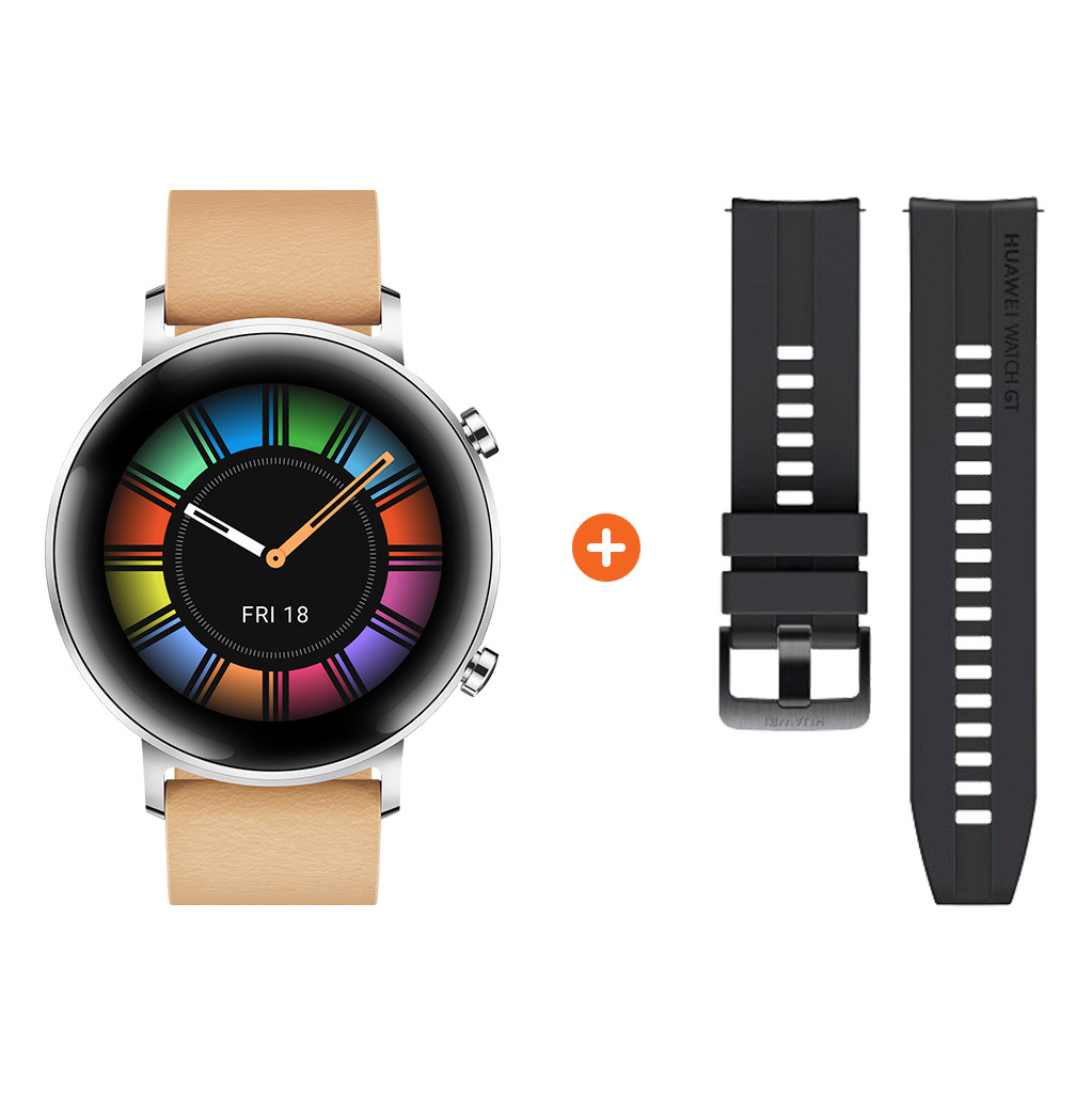 Tweedekans Huawei Watch GT 2 RVS Zilver 42mm