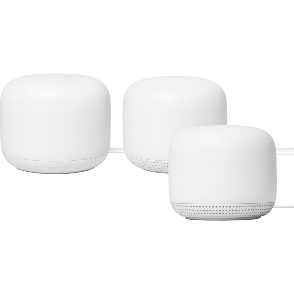 Google Nest Wifi Wit Multiroom wifi 3-Pack