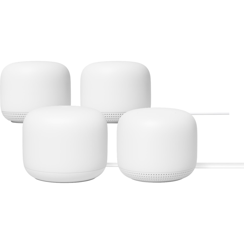 Google Nest Wifi Wit 4-Pack Multiroom wifi