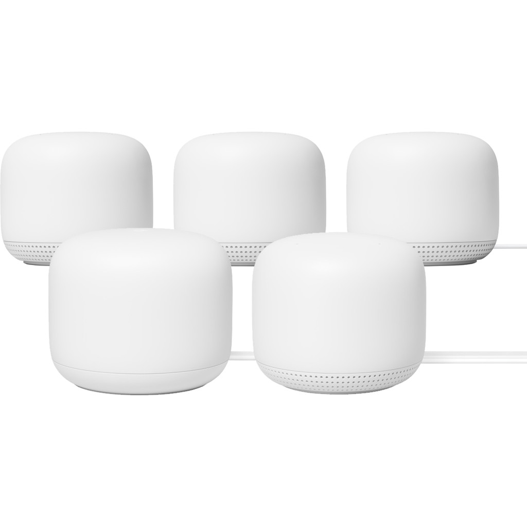 Google Nest Wifi Wit 5-Pack Multiroom wifi
