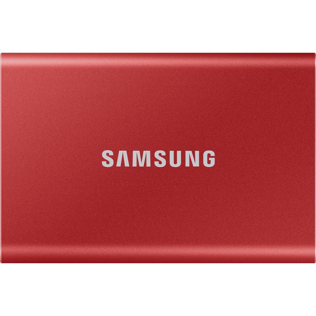 Samsung MU-PC2T0R-WW Portable T7 Externe SSD harde schijf 2 TB USB 3.2 (Gen 2)