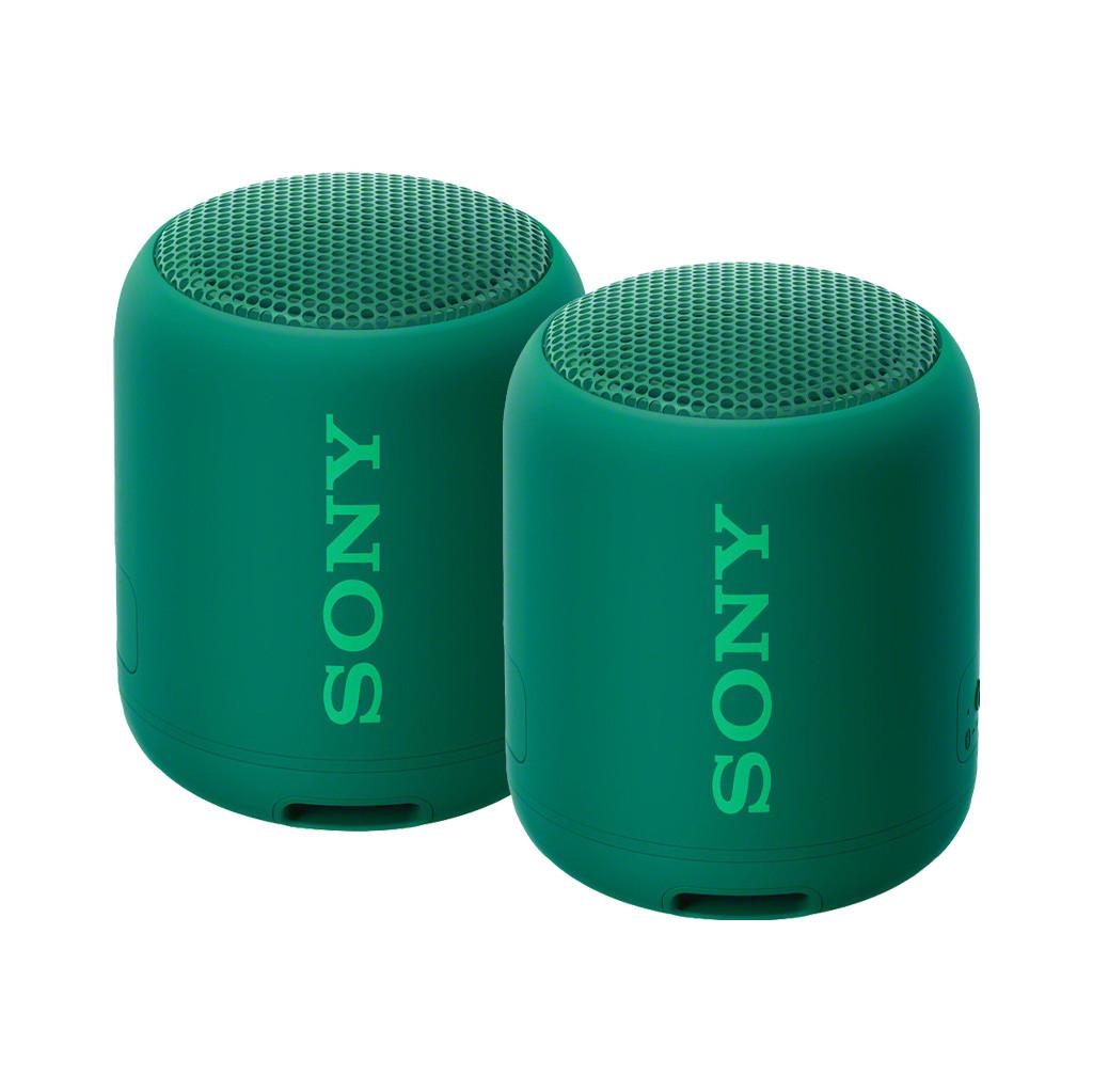 Afbeelding van de Sony SRSXB12 Duopack Groen