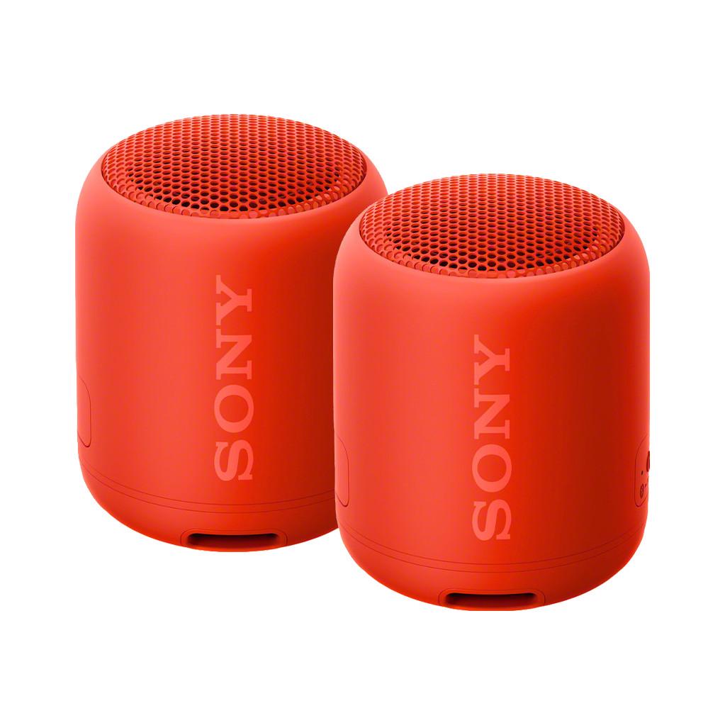 Afbeelding van de Sony SRSXB12 Duopack Rood