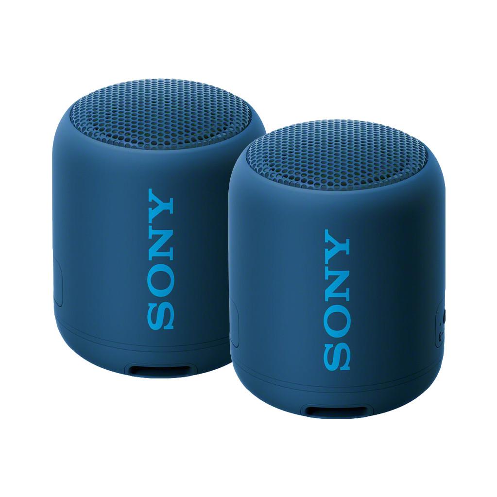 Afbeelding van de Sony SRSXB12 Duopack Blauw