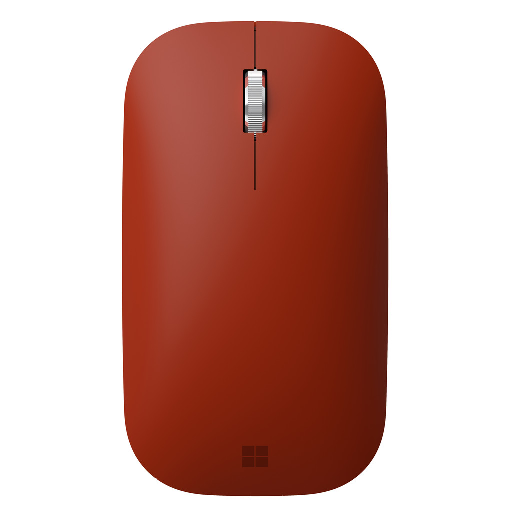 Microsoft Surface Mobile Mouse Bluetooth Muis Rood
