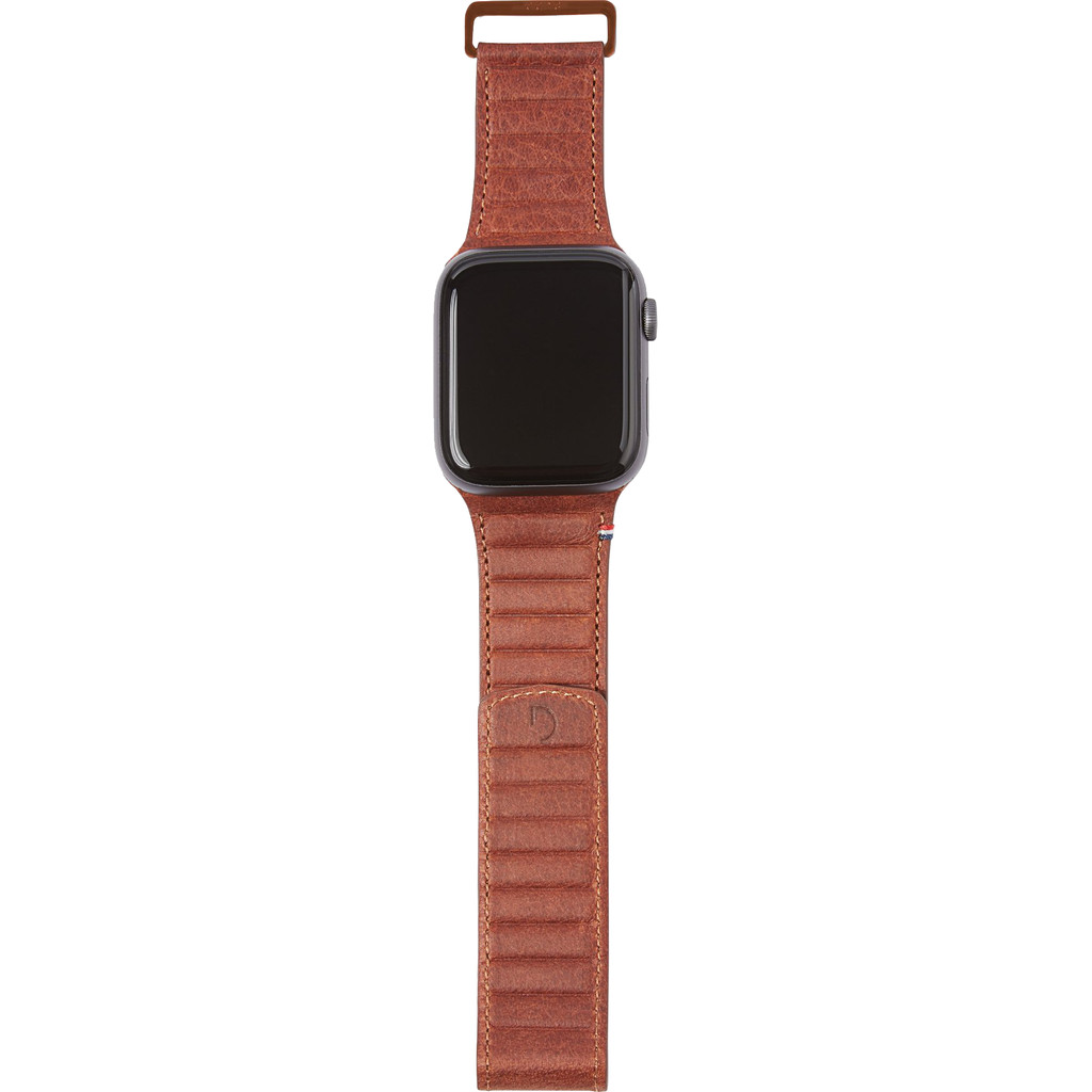 Tweedekans Decoded Apple Watch 42/44mm Leren Bandje Bruin