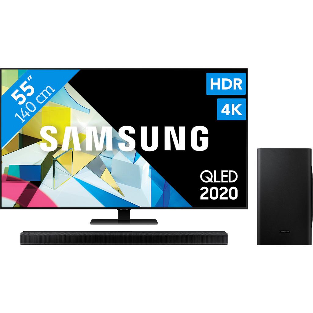 Samsung QLED 55Q80T + Soundbar kopen