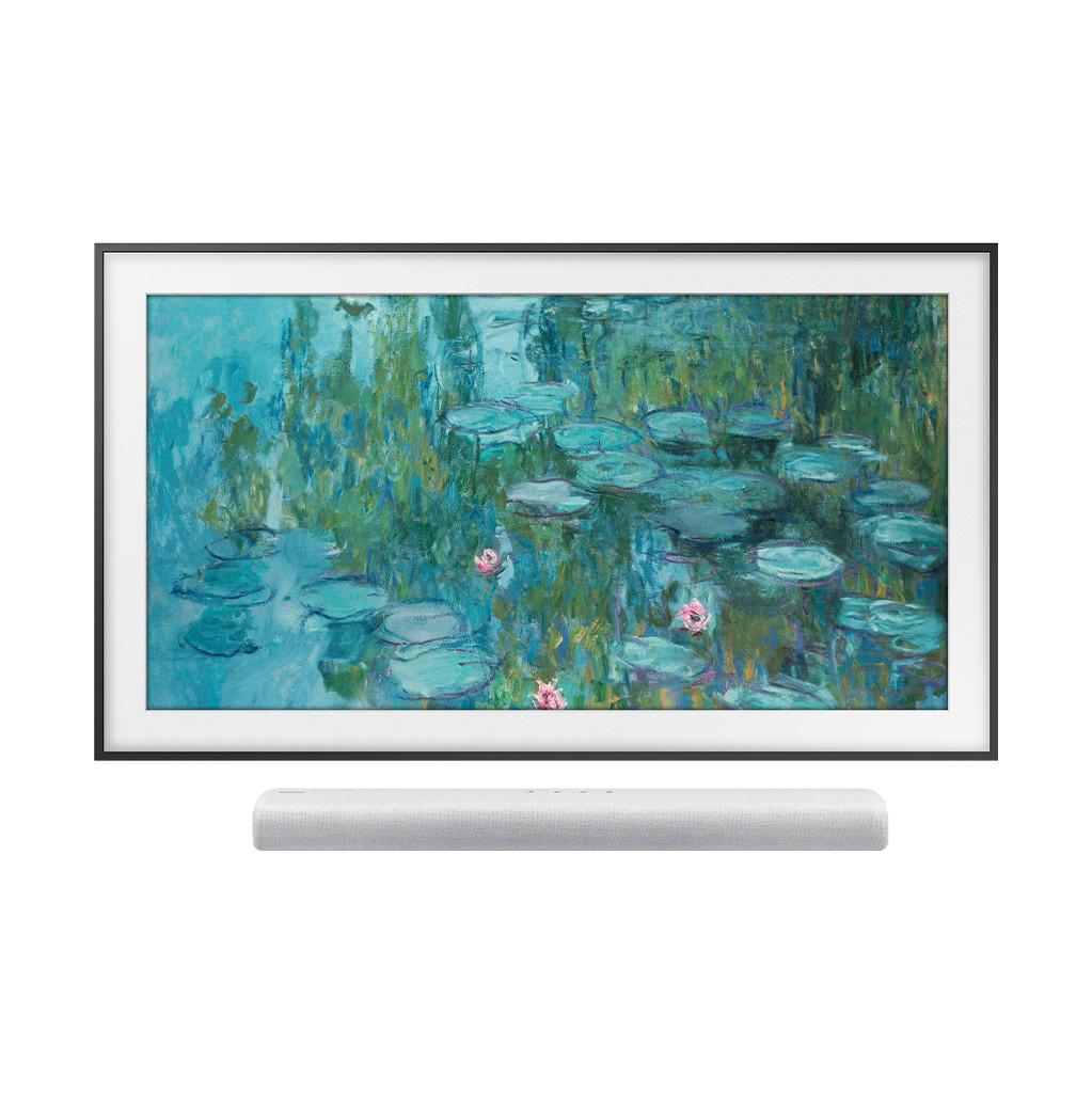 Samsung Frame 55LS03T + Soundbar (Grijs)