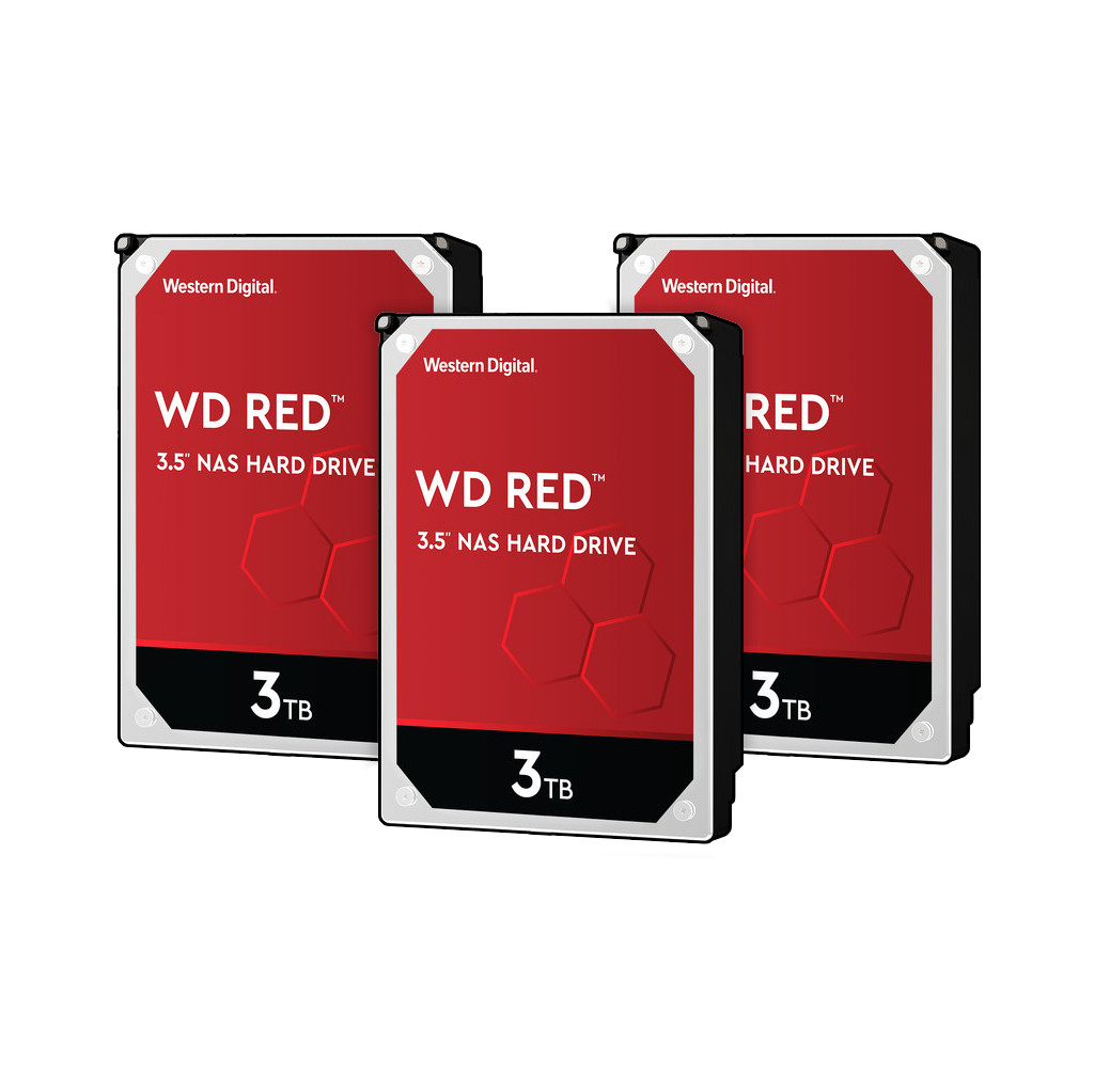 Western Digital wd red wd30efax 3tb 3 pack raid 0, 1 of 5