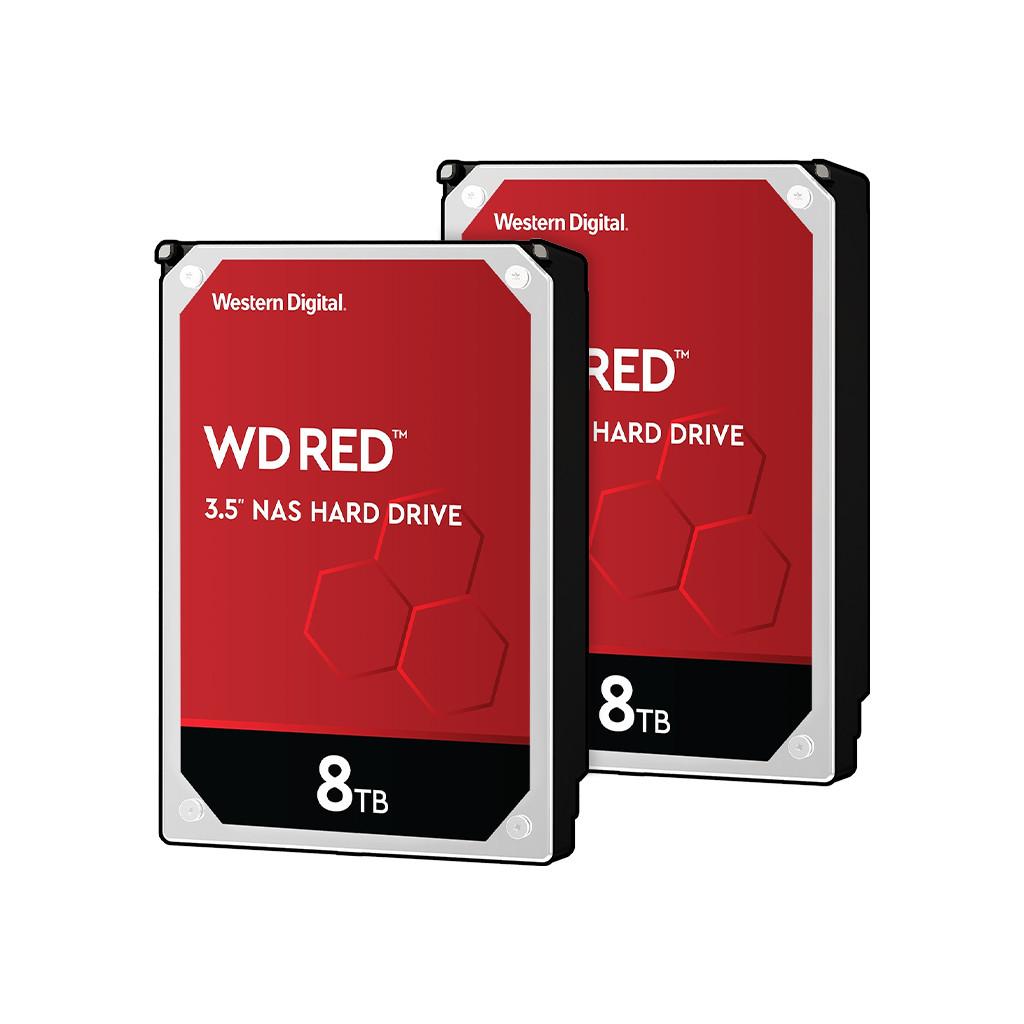 Western Digital wd red wd80efax 8tb duo pack raid 0 of 1