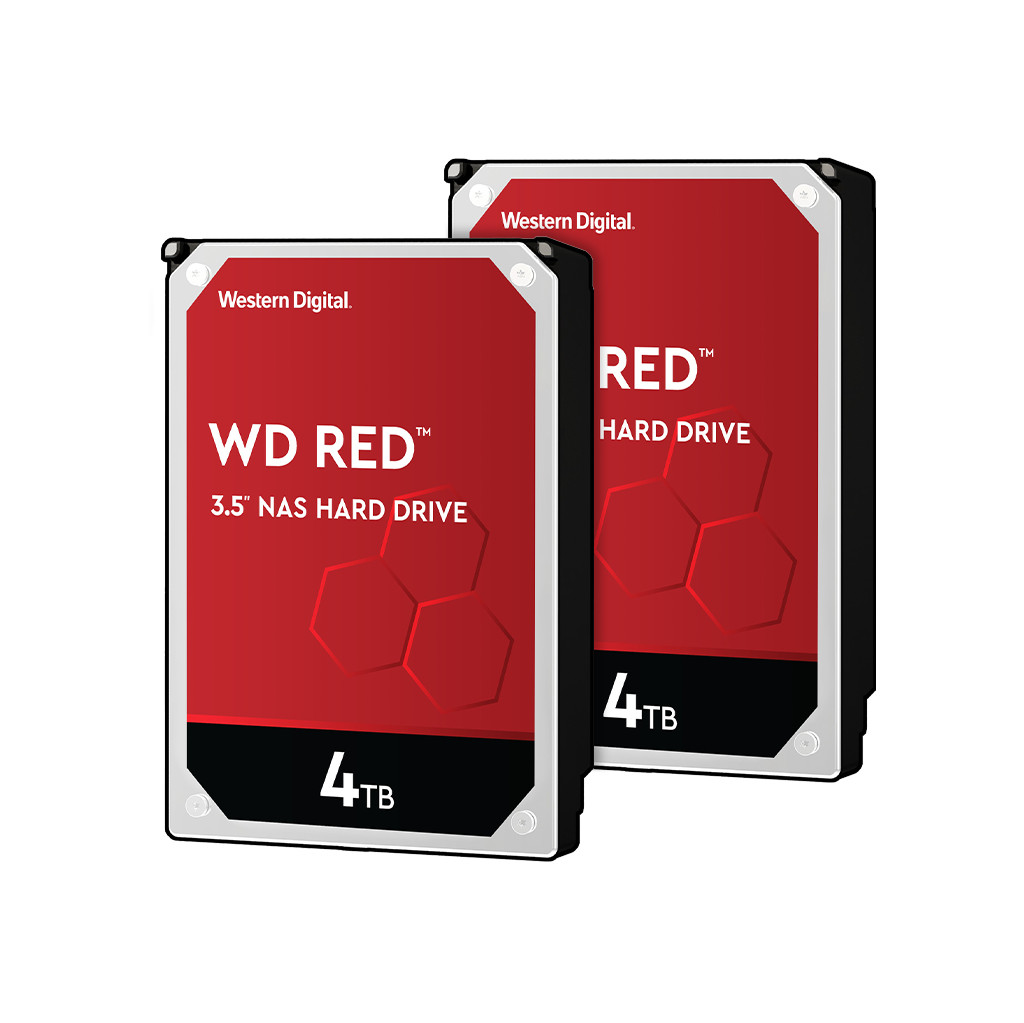 WD Red WD40EFAX 4TB Duo Pack - RAID 0 of 1 kopen