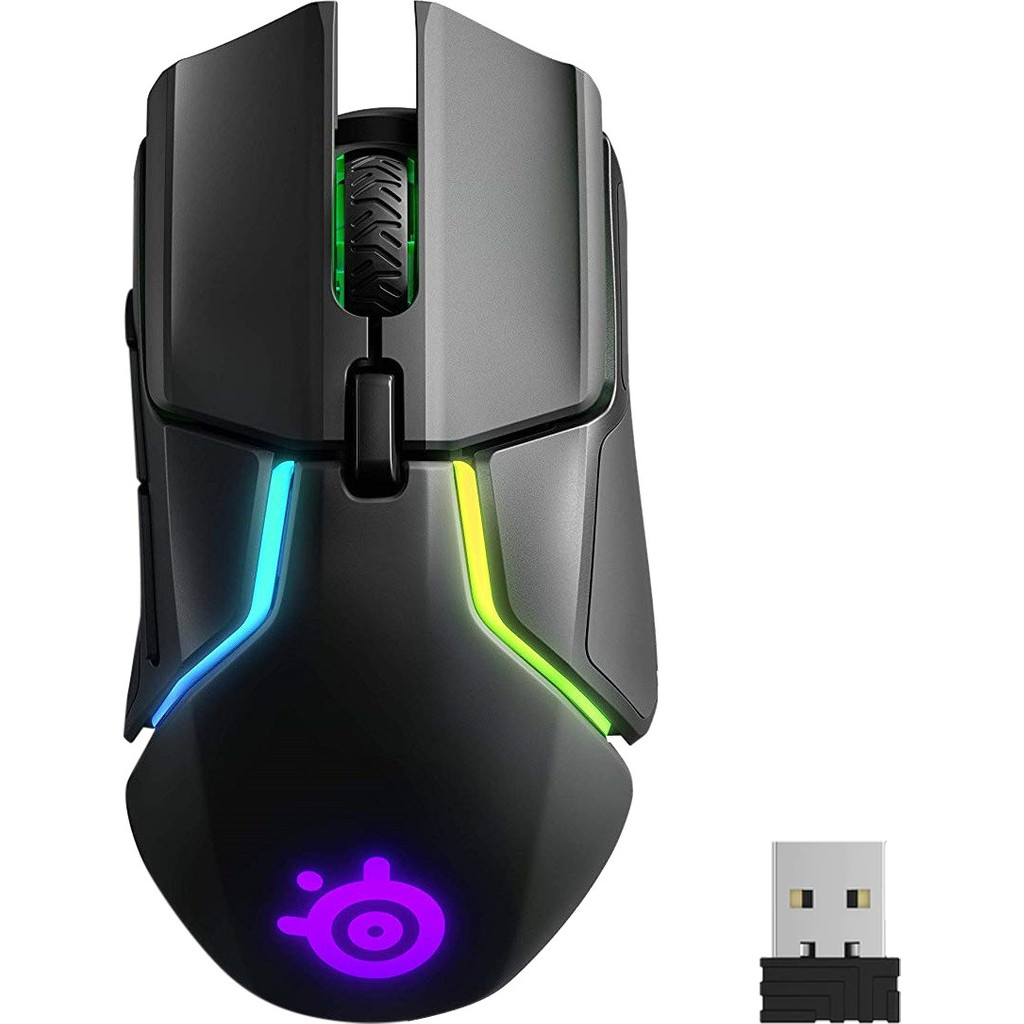 Steelseries Rival 650 Draadloze Gaming Muis