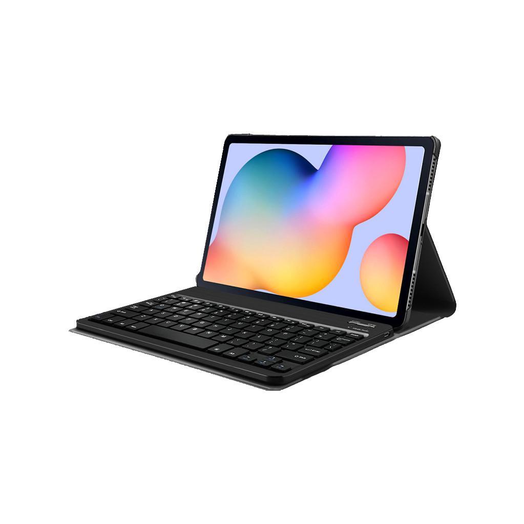 Tweedekans Just in Case Samsung Galaxy Tab S6 Lite Premium Toetsenbord Hoes Zwart QWERTY