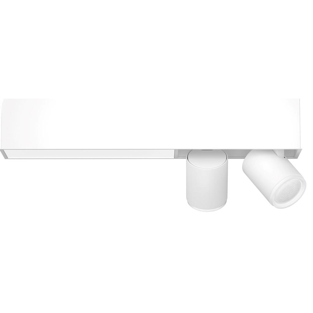 Philips Hue Centris opbouwspot White & Color 2-lichts Wit - rechthoekig