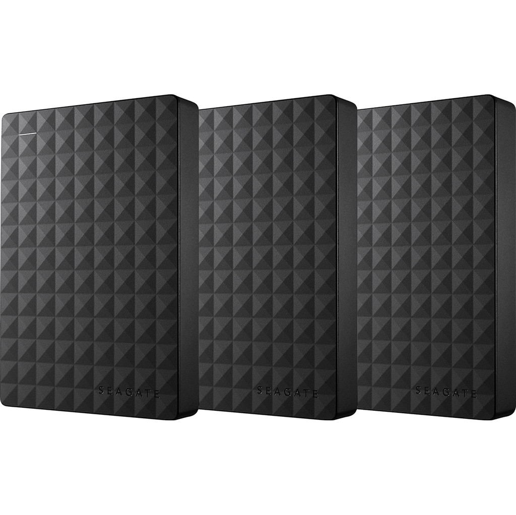 Seagate Expansion Portable 4TB 3-Pack