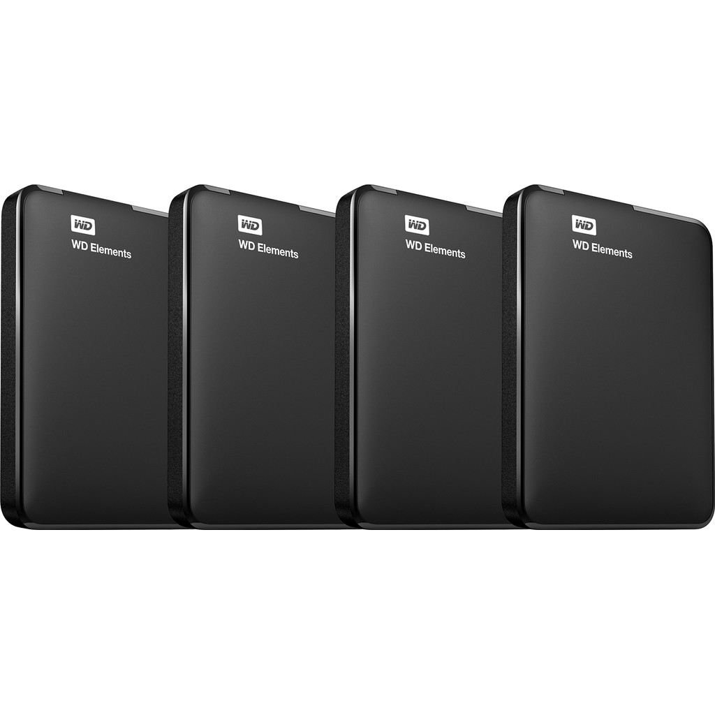 Western Digital wd elements portable 5tb 4 pack