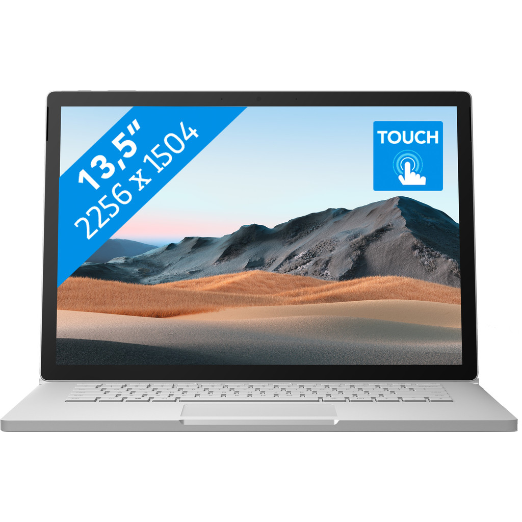 "Tweedekans Microsoft Surface Book 3 - 13"" - i7 - 16 GB - 256 GB"